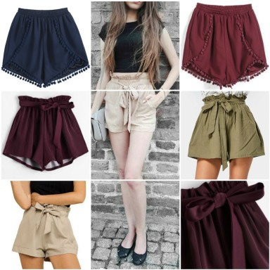 shorts collage